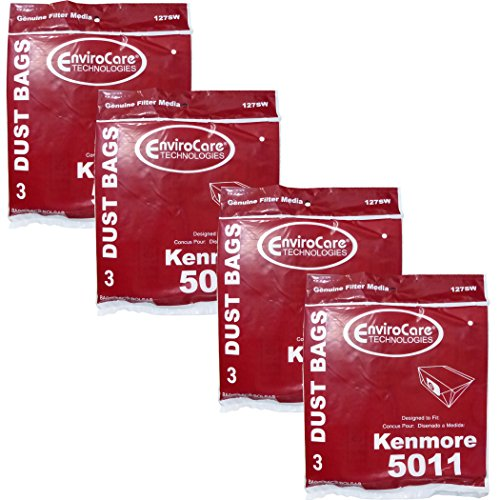 Kenmore Royal Type P Canister Vacuum Cleaner Bag 5011 20-5001 40100513 9025110 20-5011 (4)
