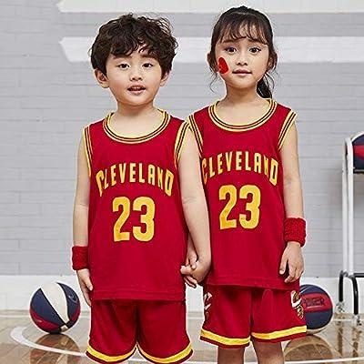 HSWU-DRESS Jersey De Niño Cleveland Cavaliers Lebron James # 23 ...