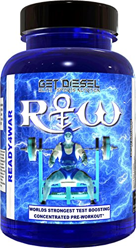GET DIESEL strong preworkout tablets (not capsules or powder) Ready4War Worlds Strongest Pre-workout hits hard and fast – 100 Tabs