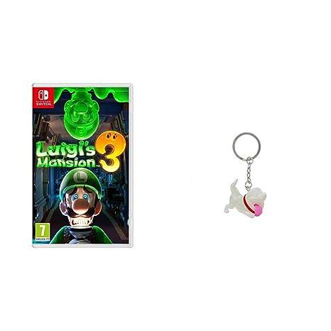 Luigis Mansion 3 (Nintendo Switch) + Llavero - Luigis ...