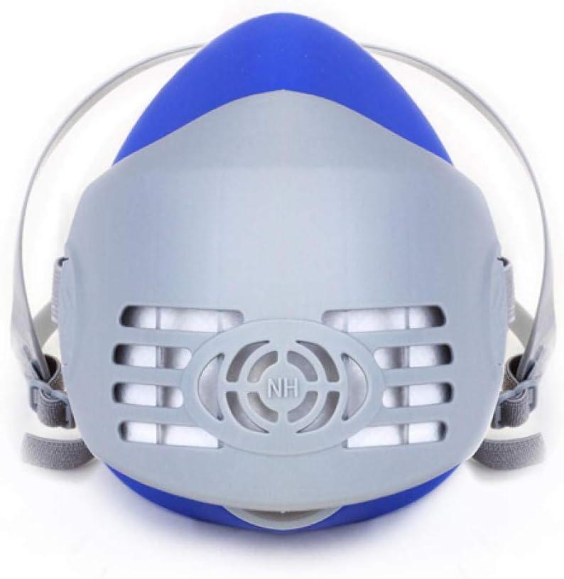 Máscaras de Polvo Mask218, Goma de Polvo Industrial, protección respiratoria, Seguro Laboral, Venta al por Mayor, máscaras antiniebla eficientes
