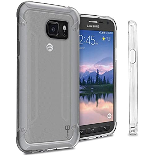 Galaxy S7 Active Clear Case, CoverON [FlexGuard Series] Slim High Quality Soft Flexible TPU Rubber Phone Cover Case for Galaxy S7 Active - Clear Sales
