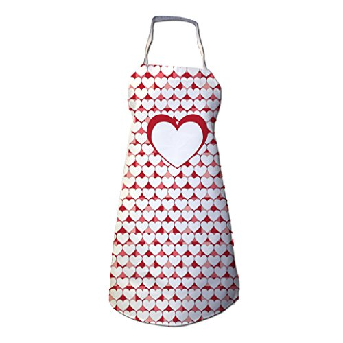 VictoryStore Heart Apron - Mother's Day Apron