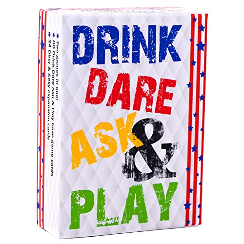 Drinking Card Games Fun (Drink Dare Ask and Play - Fun Adult Drinking Card Game For Parties)