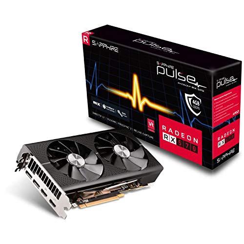 Sapphire 11266-67-20G Carte Graphique Radeon RX 570 4 Go GDDR5 Cartes Graphiques Radeon RX 570, 4 Go, GDDR5, 256 bit, 3840 x 2160 Pixels, PCI Express x16 3.0