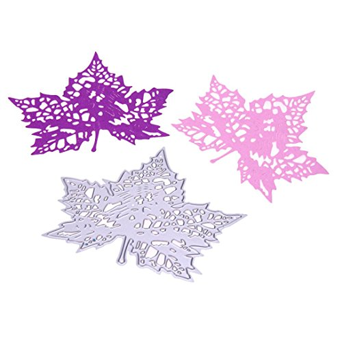 New Flower Heart Metal Cutting Dies Stencils DIY Scrapbooking Album Paper Card by TOPUNDER - Corner Die