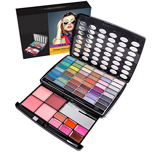 SHANY Glamour Girl Makeup Kit - 48 Eyeshadow/4 Blush/6 Lip ()