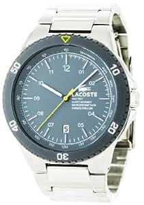 Lacoste 2010553 - Reloj para hombres color plateado