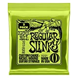 Musical Instruments : Ernie Ball Regular Slinky Nickel Wound Sets, .010 - .046 (3 Pack)