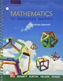 img - for Mathematics for Elementary Teachers: An Activity Approach with Manipulative Kit and Connect Access Card book / textbook / text book
