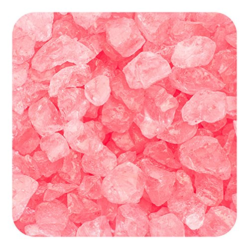 Coral Pebbles (Sandtastik Preschool Craft Colored ICE Real Glass Gems, Scatters 1.5 Pint (2 lb) 4 - 10 mm - Coral)