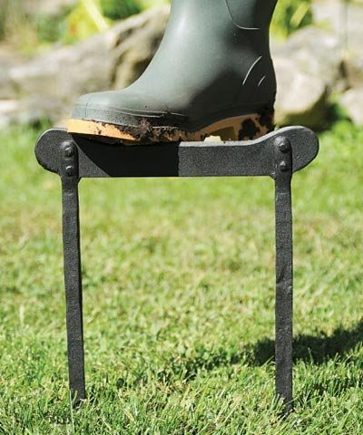 BestNest Two Pack of Achla Garden Boot Scrapers