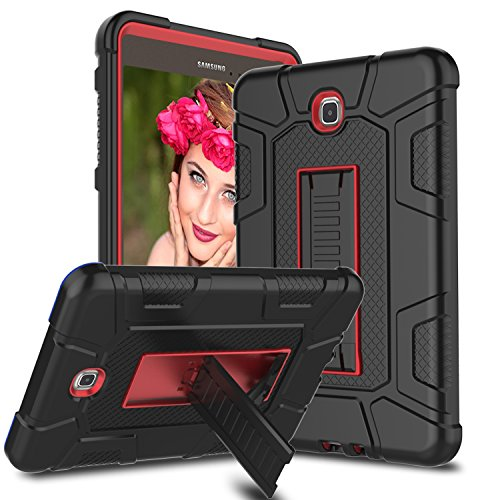 Cheap Cases Venoro Samsung Galaxy Tab A 8.0 Case, [Kickstand Feature] Shockproof Rugged Heavy..