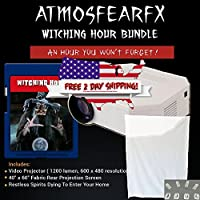Atmosfearfx Witching Hour on SD Media Card bundle with built in SD Media Card Player, 1200 Lumen and 640 x 480 Resolution