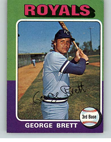 1975 Topps 228 George Brett Royals Ex 362344 Kit Young Cards