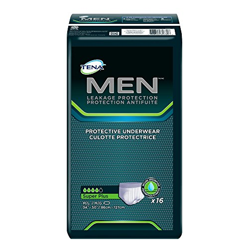 TENA Incontinence Underwear for Men, Protective, Medium/Large, 16 Count by TENA