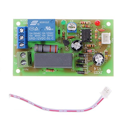 Kkmoon Dc - Ac 220v Trigger Delay Switch Turn On Off Board Timer Relay Module Plc Adjustable - Delay Board Ticking Crock Maker Sound Prescription Down Kitchen Hunting Protector Card Reading