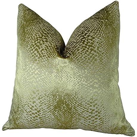 Plutus Brands Plutus Hidden World Handmade Throw Pillow 26 X 26 Gold