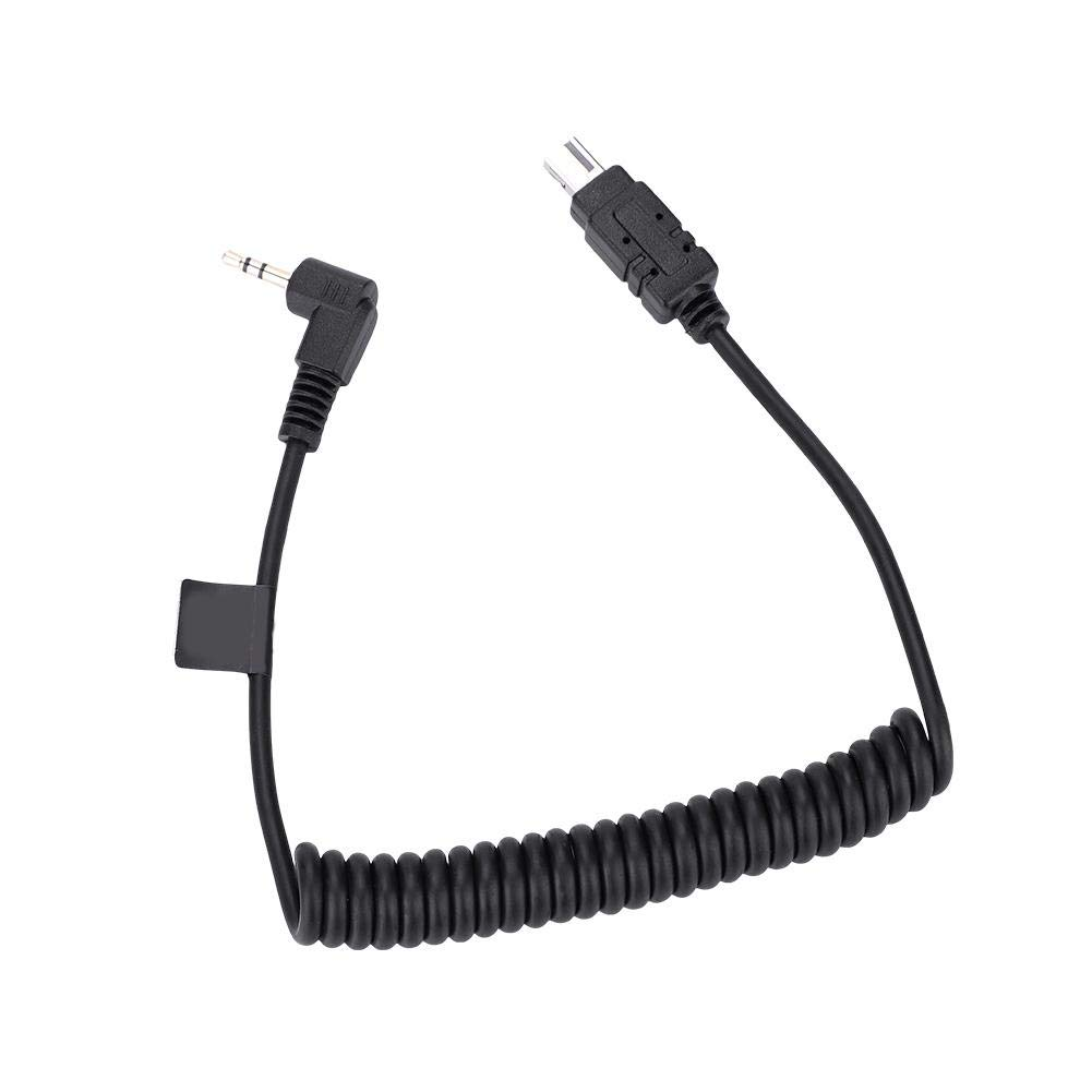 2.5mm-C3 Camera Remote Control Shutter Release Cable Cord for Canon 6D 5D3 7D Vbestlife Camera Flash Trigger