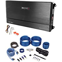 Package: MB Quart DA1-1200.2 1200 Watt RMS 2 Channel Class D Car Audio Discus Amplifier + Rockville RWK41 4 Gauge 2 Channel Complete Wire Kit With RCA Cables