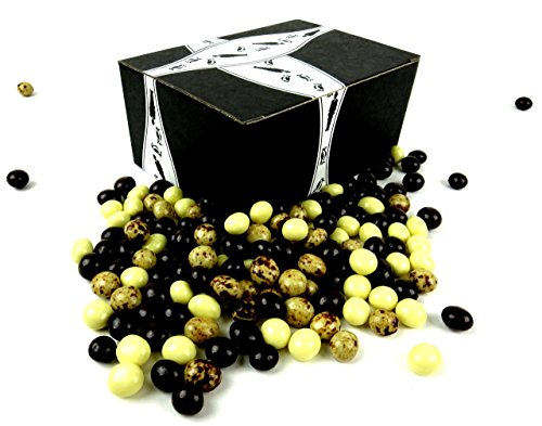 Beans Dilettante Espresso (Cuckoo Luckoo Gourmet Chocolate Espresso Beans Blend, 1 lb Bag in a BlackTie Box)
