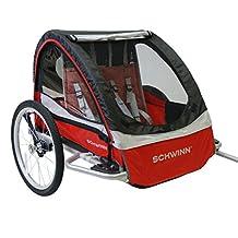 Schwinn 0412MK559 Deluxe Bike Trailer