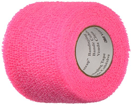 3M Vetrap Tape Roll for Dogs, Cats and Horses, 2-Inch by 5-Yard, Hot Pink