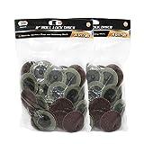 IIT 82035 Tool 2'' 36 Grit Roll Lock Sanding Discs (100 Pcs)