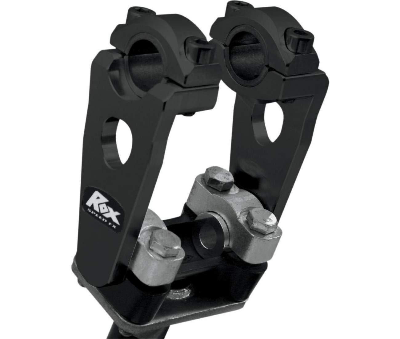 Paar kompensierte drehbar-Lenker Alu schwarz 125 mm riser- 0602 – 0442