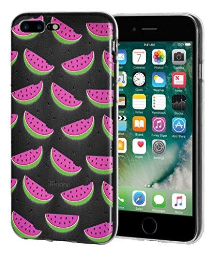 """Amzer Coque """"Imprimé Moderne Pastèque en gel souple en TPU pour Apple iPhone Transparent 7Plus"""