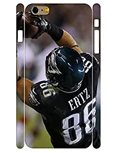3D Print Individualized Charming Player Shot High Impact Cell Phone Case Fits Iphone 6 Plus 5.5 Inch