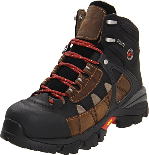 Timberland PRO Men's Hyperion Waterproof XL Steel Toe Work Boot,Brown,8 W US by Timberland PRO