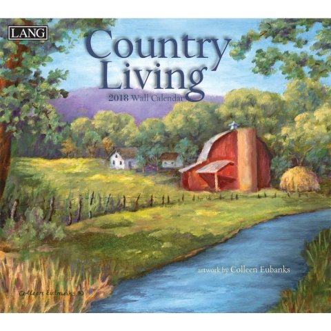 The Lang Country Living Wall Calendar 2018