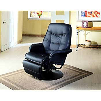 Amazon Com Flash Furniture Contemporary Black Leather