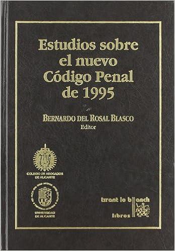 Estudios sobre el nuevo Código penal de 1995 (Spanish Edition): 9788480024587: Amazon.com: Books