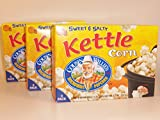 uncle willies popcorn - Cousin Willie's Sweet & Salty Kettle Corn Microwave Popcorn (3 Boxes)