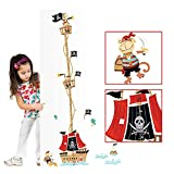 VSTON Height Measurement Growth Figure Pirate Ship Detachable Wall Decoration Sticker Perfect Nursery Game Room Children Bedroom(Pirate Ship)