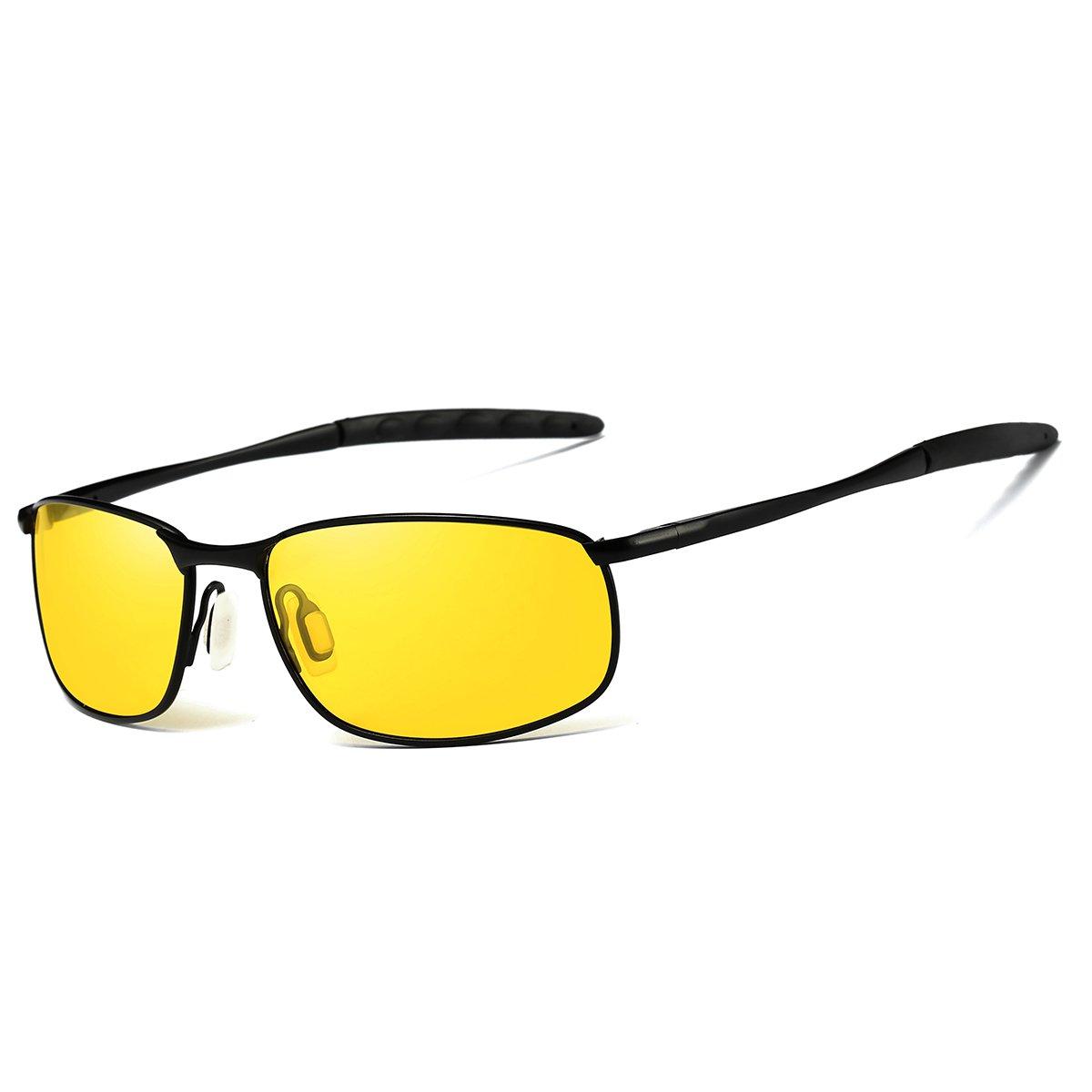 FEIDU Deporte Gafas de Sol Polarizadas Lente HD con Estilo de Conducir para Hombre y Mujer FD 9005 2.24)