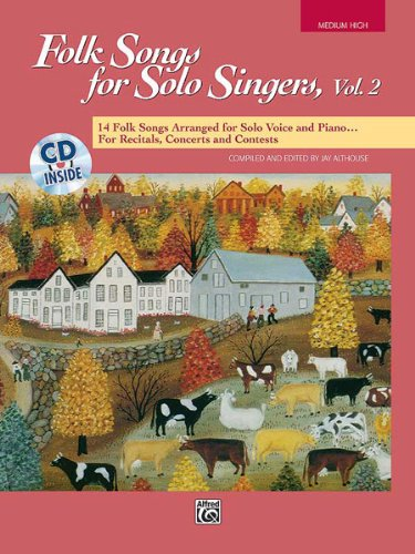 Descargar Libro Alfred 00-16304 Folk Songs For Solo Singers-vol. 2 - Music Book Desconocido
