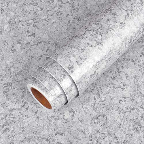 "LaCheery Granite Contact Paper for Countertops Waterproof Countertop Contact Paper Decorative Wall Paper Roll Peel and Stick Wallpaper for Kitchen Bathroom Furniture Vinyl Countertop Paper 15.8""x160"""