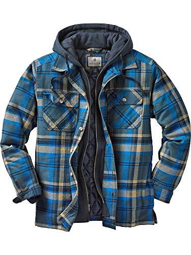 Legendary Whitetails Men Maplewood Hooded Shirt Jacket
