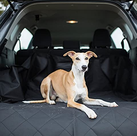 MADY Quilted Dog Cargo Liner Cover for SUV, Pet Seat Cover, Universal Fit for most Cars, Trucks & SUVs, (Touareg Oxford)