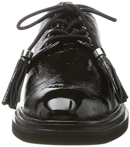 Derby Stringate Donna Nero Scarpe Black Cole Kenneth Annie wPq44R