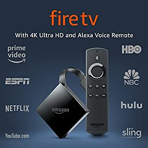 Fire TV with 4K Ultra HD and Alexa Voice Remote (Pendant Design) | Streaming Media Player