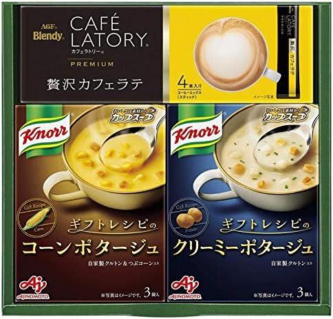 味の素 〈ギフトレシピ〉「クノール」スープ&コーヒーギフト KGC-JN