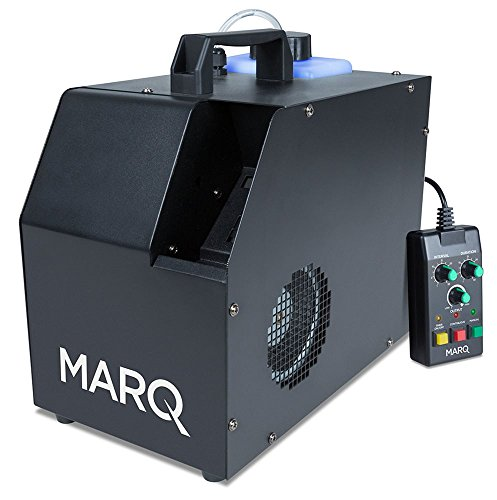 (MARQ Haze 800 DMX | Water-based Hazer with Advanced Programming, Selectable Output & Wired Remote Control (800-watts) )