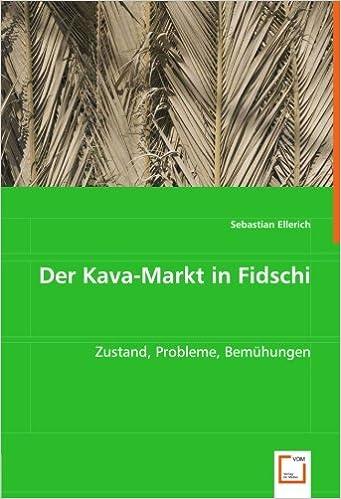 Der Kava Markt In Fidschi Zustand Probleme Bemuhungen German