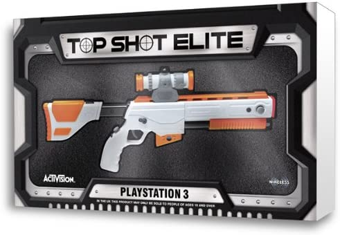 Top Shot Elite Gun Ps3 Amazon Co Uk Pc Video Games