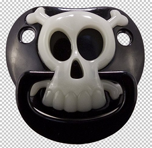 Pacifier Billy Bob Pirate Black & Skull -