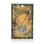 WeiVan Steampunk Necklace Retro Gothic Victorian Industrial Gears Jewelry 6